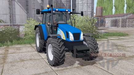 New Holland T5070 rundumleuchten для Farming Simulator 2017