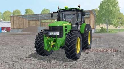John Deere 7430 Premium 2007 для Farming Simulator 2015