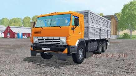 КамАЗ 53212 6x6 с прицепом для Farming Simulator 2015