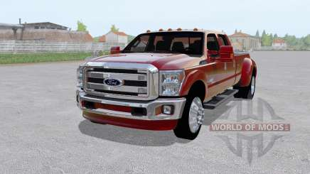 Ford F-350 Super Duty King Ranch Crew Cab 2011 для Farming Simulator 2017