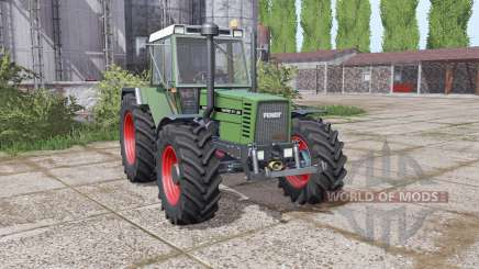 Fendt Favorit 611 LSA Turbomatic E dual rear для Farming Simulator 2017