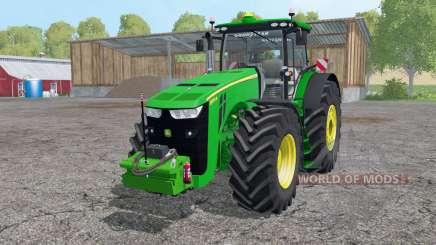 John Deere 8370R intеractive control для Farming Simulator 2015