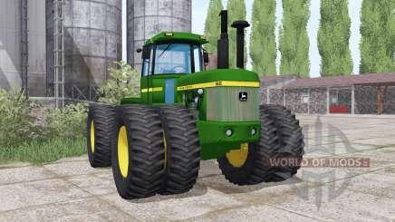 John Deere 8630 twin wheels для Farming Simulator 2017