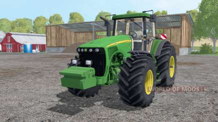John Deere 8520 wheels weights для Farming Simulator 2015