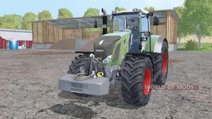 Fendt 828 Vario weight для Farming Simulator 2015