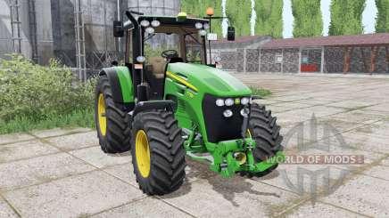 John Deere 7730 interactive control для Farming Simulator 2017