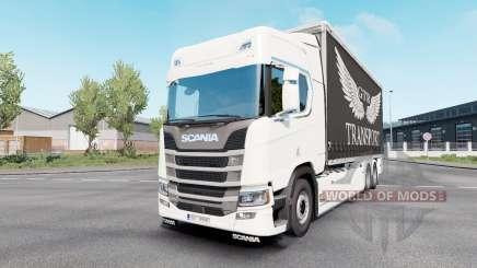 Scania S 730 Highline Tandem v1.1 для Euro Truck Simulator 2