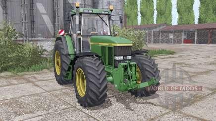John Deere 7800 dual rear для Farming Simulator 2017