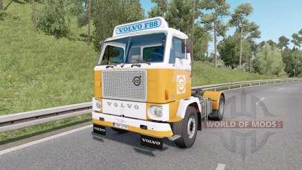 Volvo F88 4x2 tractor 1965 v1.4 для Euro Truck Simulator 2