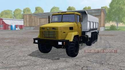 КрАЗ 7140С6 для Farming Simulator 2015