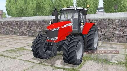 Massey Ferguson 7724 Michelin XeoBib для Farming Simulator 2017