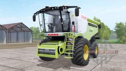Claas Lexion 780 with headers для Farming Simulator 2017