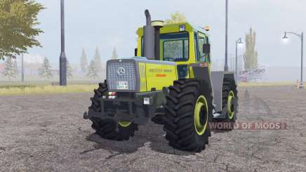 Mercedes-Benz Trac 1800 moderate yellow для Farming Simulator 2013
