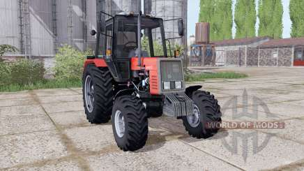 МТЗ 892 Беларус анимация частей для Farming Simulator 2017