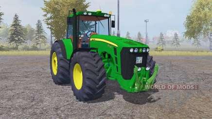 John Deere 8530 dark lime green для Farming Simulator 2013