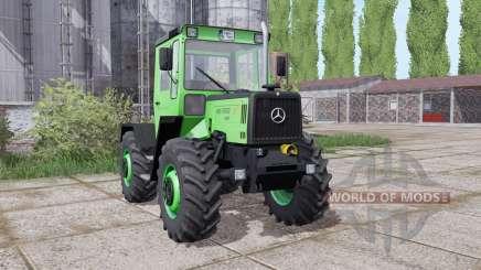 Mercedes-Benz Trac 700 Family Edition для Farming Simulator 2017