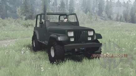Jeep Wrangler (YJ) 1993 для MudRunner