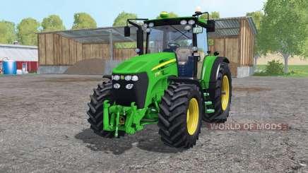 John Deere 7730 twin wheels для Farming Simulator 2015