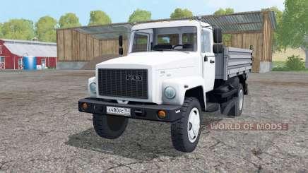 ГАЗ САЗ 35071 с полуприцепом для Farming Simulator 2015