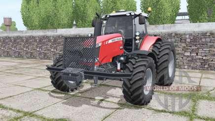 Massey Ferguson 7720 More Realistic для Farming Simulator 2017