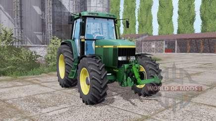 John Deere 6810 duаl rear для Farming Simulator 2017