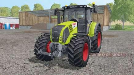 CLAAS Axion 850 interactive control для Farming Simulator 2015