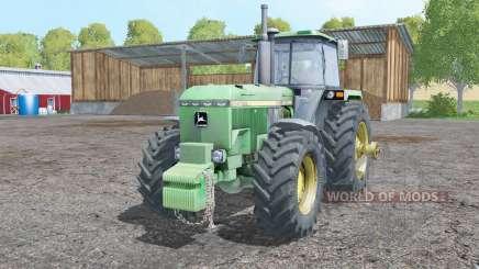 John Deere 4755 front weight для Farming Simulator 2015