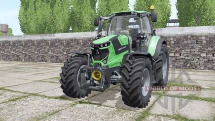 Deutz-Fahr Agrotron 6185 TTV interactive control для Farming Simulator 2017