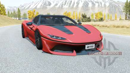 Ferrari J50 2016 для BeamNG Drive