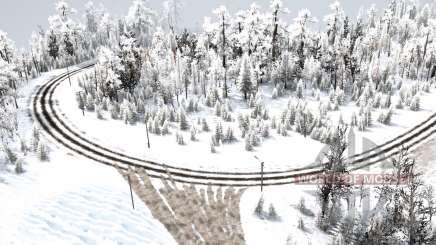 The road to the North 2 v1.1 для MudRunner