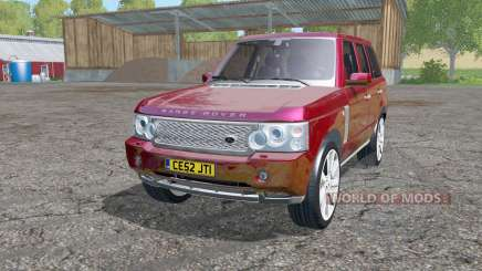 Land Rover Range Rover Supercharged (L322) 2005 для Farming Simulator 2015
