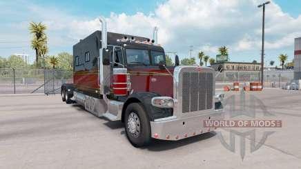 Peterbilt 389 Long Sleeper для American Truck Simulator