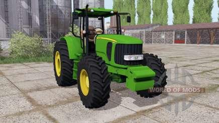 John Deere 6180J 2010 для Farming Simulator 2017