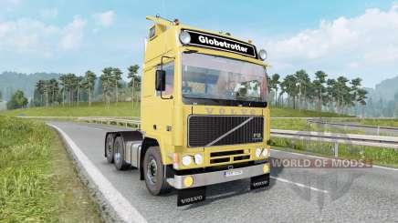 Volvo F12 soft yellow для Euro Truck Simulator 2
