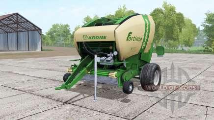 Krone Fortima V 1500 green для Farming Simulator 2017