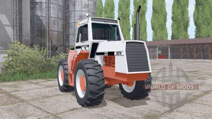 Case 2670 twin wheels для Farming Simulator 2017