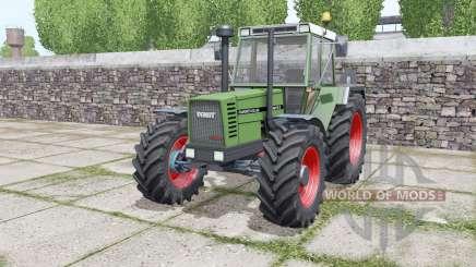 Fendt Favorit 612 LSA Turbomatik E configure для Farming Simulator 2017