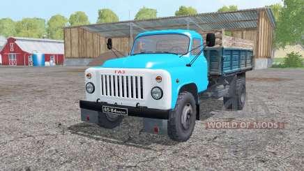 ГАЗ 53 4x4 для Farming Simulator 2015