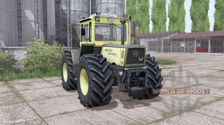 Mercedes-Benz Trac 1600 Turbo animation parts для Farming Simulator 2017
