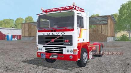 Volvo F12 with semitrailers для Farming Simulator 2015