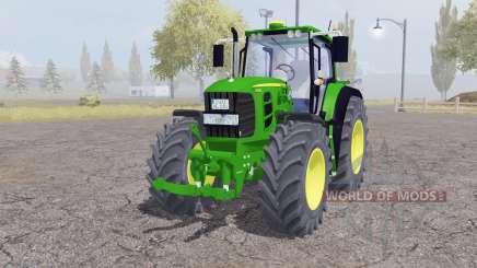 John Deere 7530 Premium front loader для Farming Simulator 2013