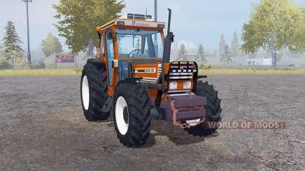 Fiatagri 90-90 DT front loader для Farming Simulator 2013