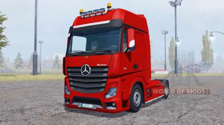 Mercedes-Benz Actros (MP4) v2.0 для Farming Simulator 2013