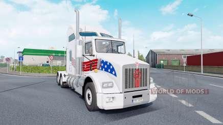 Kenworth T800 AeroCab v1.7 для Euro Truck Simulator 2