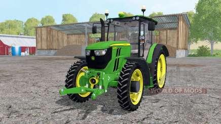 John Deere 6090RC narrow wheels для Farming Simulator 2015