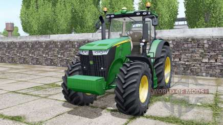 John Deere 7260R Europe Version для Farming Simulator 2017