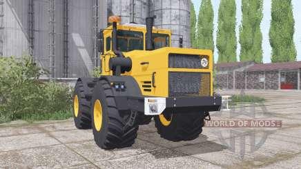 Кировец К-700А жёлтый для Farming Simulator 2017