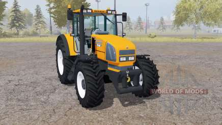 Renault Ares 610 RZ front loader для Farming Simulator 2013