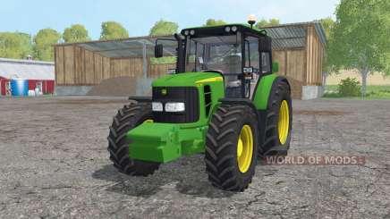 John Deere 6230 pack для Farming Simulator 2015