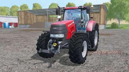 Case IH Puma 240 CVX interactive control для Farming Simulator 2015